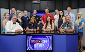 Lynxx 24 TV News Team